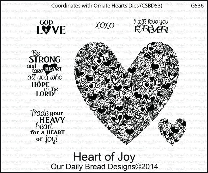 Stamps - Our Daily Bread Designs Heart of Joy