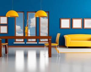 Cat Rumah Minimalis Biru