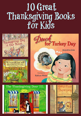 Great Thanksgiving Books For Kids