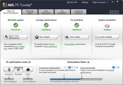 AVG PC Tuneup Pro 2013 Full Version | masterkreatif.com » Free Fast