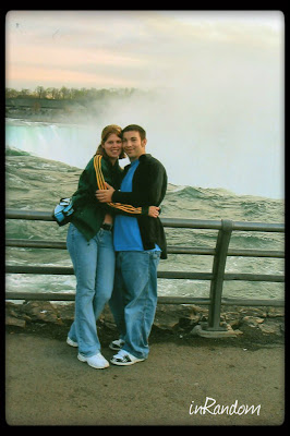 Love at Niagara Falls