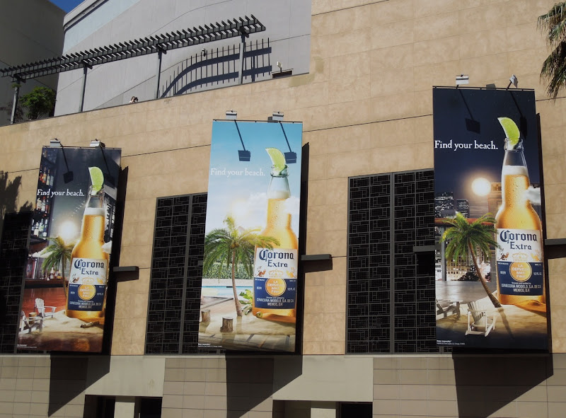 Corona Find your beach billboards