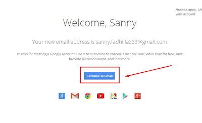 bagaimana Cara daftar Membuat Email Gmail