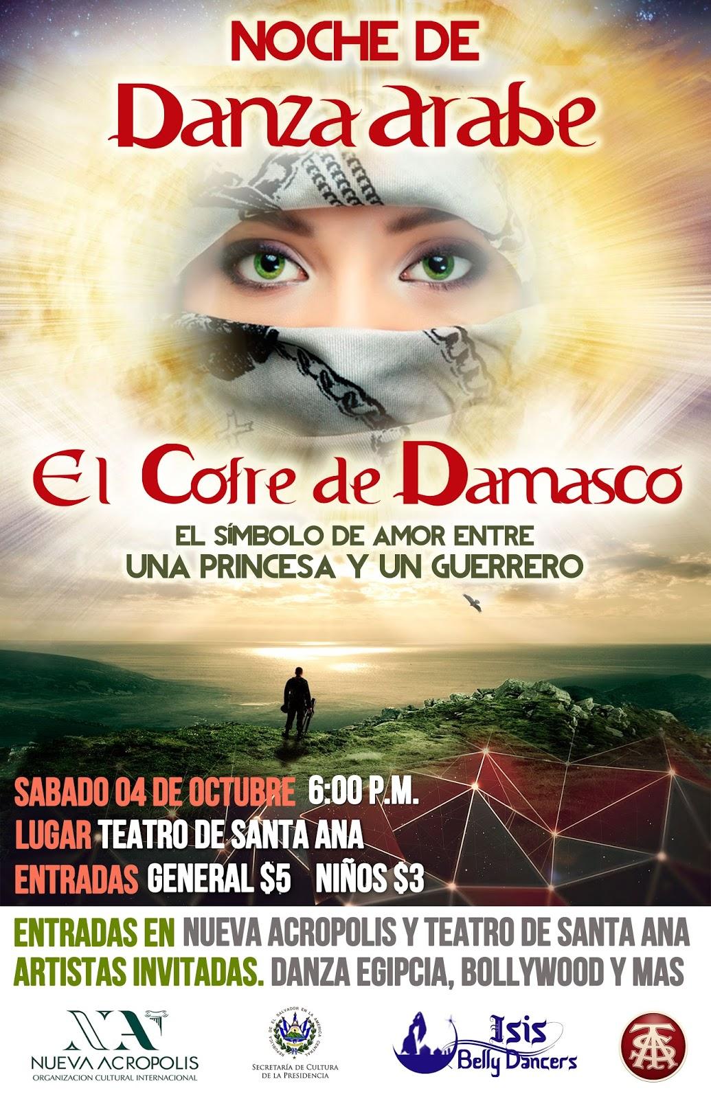 Noche de Danza Árabe y Bollywood 2014 de Nueva Acrópolis Santa Ana