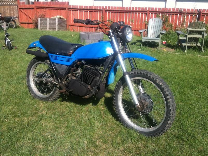 Antiquated mule dt250 for sale for Yamaha dt 250 for sale