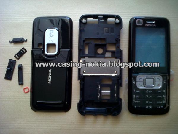 Jual Casing Nokia 6120c Full Black