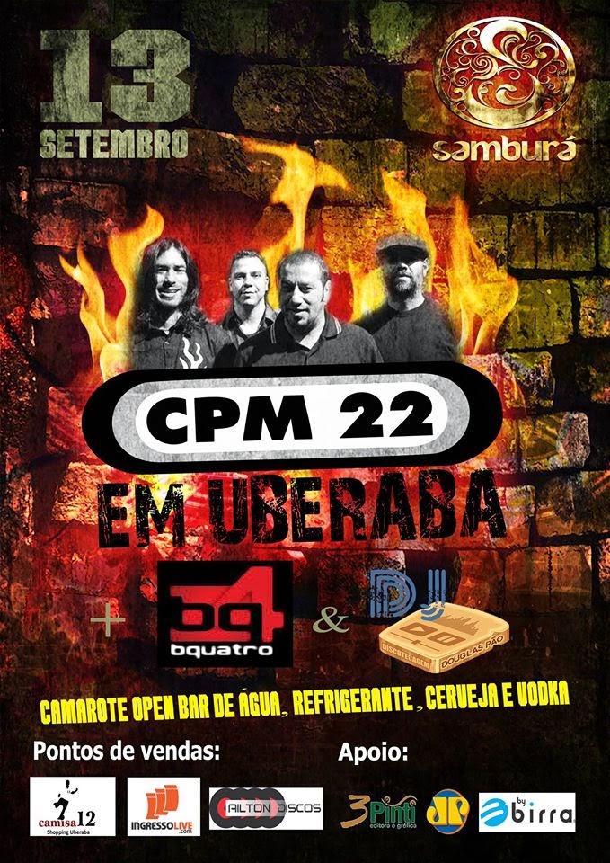 CPM22 em Uberaba!