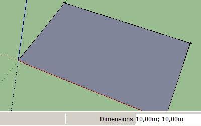 Cara Membuat Lantai dan Dinding pada Google SketchUp-1