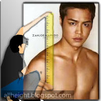 What is the height of Zanjoe Marudo?