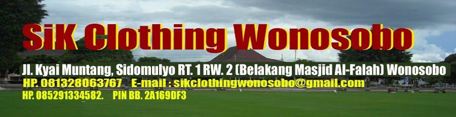 SIK CLOTHING WONOSOBO JAWA TENGAH