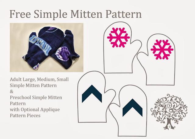 Speedy Gonzales Sewing: Simple Winter Mittens {Free Pattern ...
