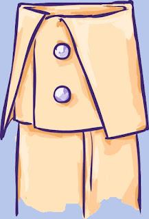 turnback cuff sketch
