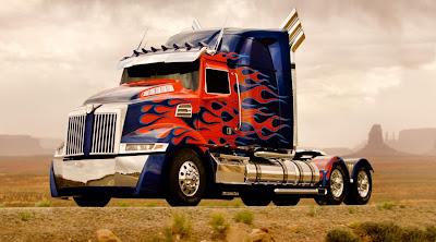 Transformers 4 Optimus Prime Truck