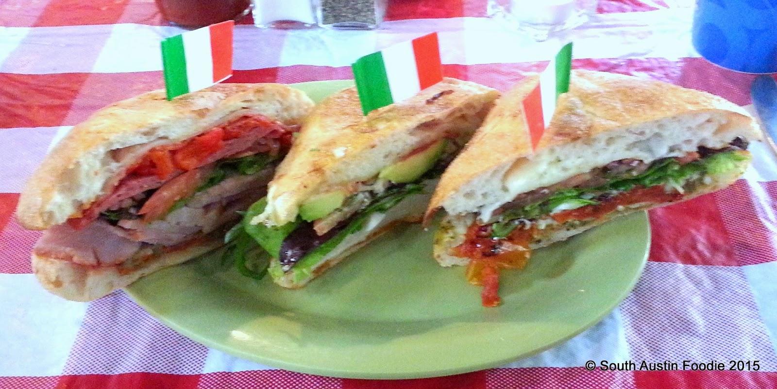 Schlotzsky's -- sandwiches #hoorayitaly