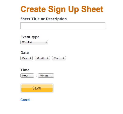Doc 1239539 How To Create A Sign Up Sheet How To
