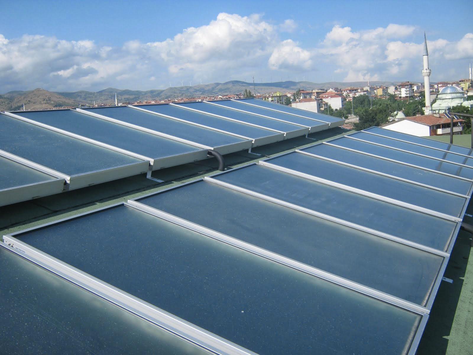 güneş enerji bakır kollektörler