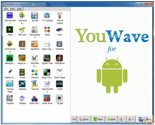 YouWave For Android Home Edition v3.21 Full Patch Terbaru Gratis screenshot