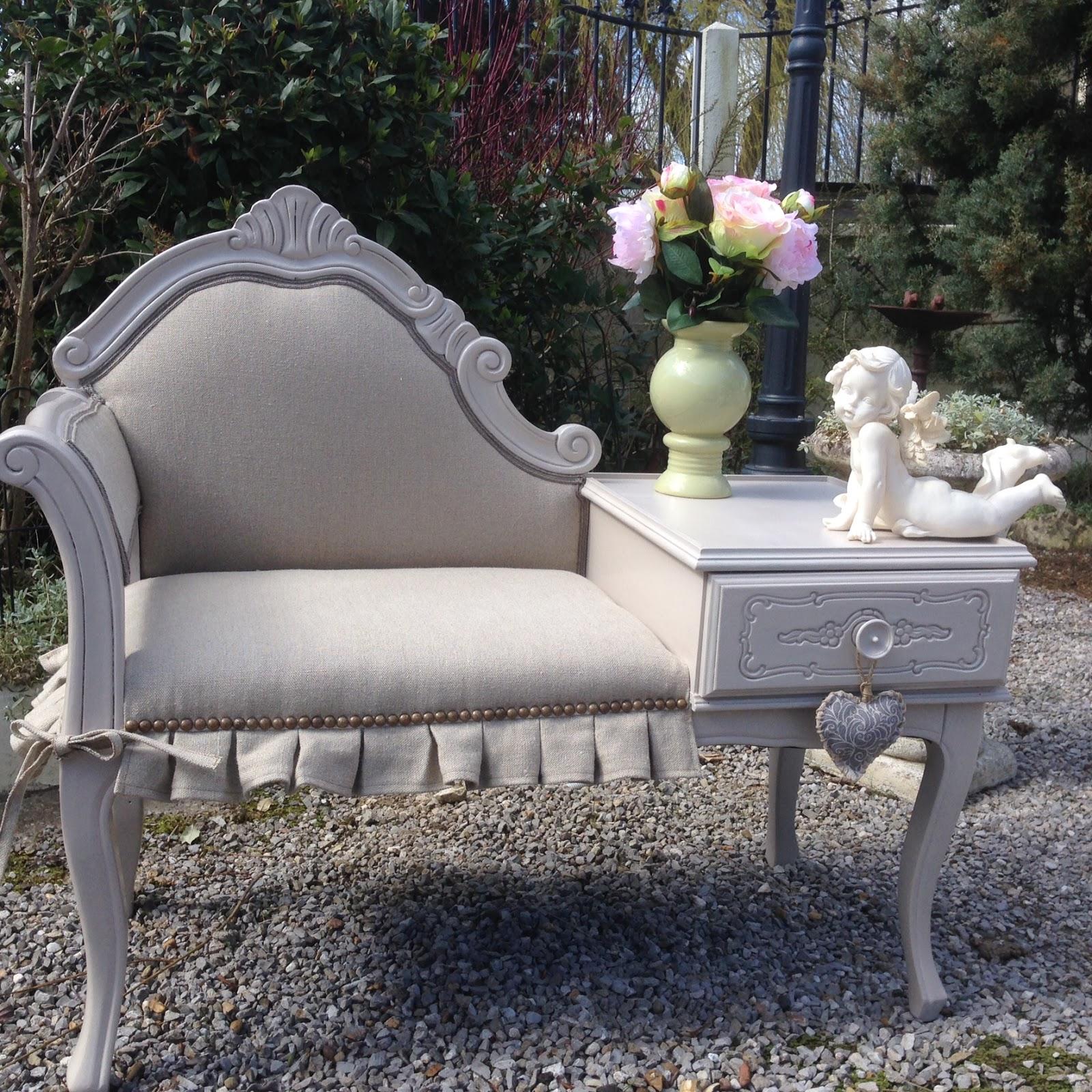 Myriam bouin tapissier d corateur meuble fauteuil de for Meuble telephone ancien