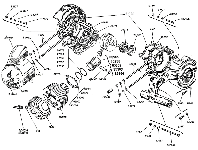gy6 engine specifications