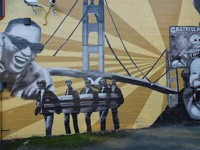 Rock Icons Murals with Ray Charles and the Beach Boys