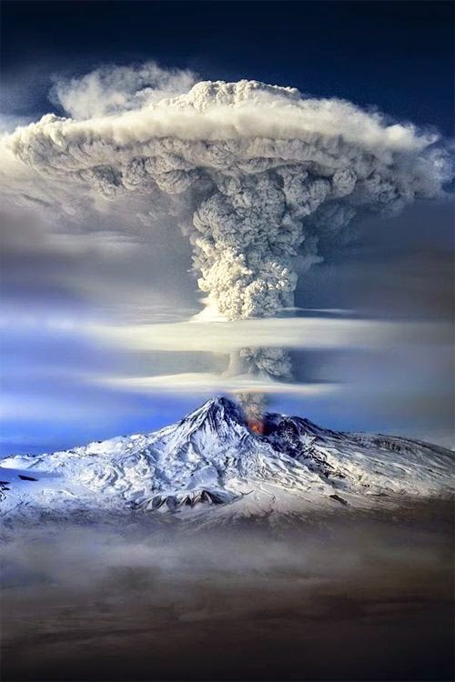 Mount Ararat eruption, Italy