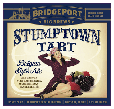 Bridgeport Stumptown Tart 2013 Label