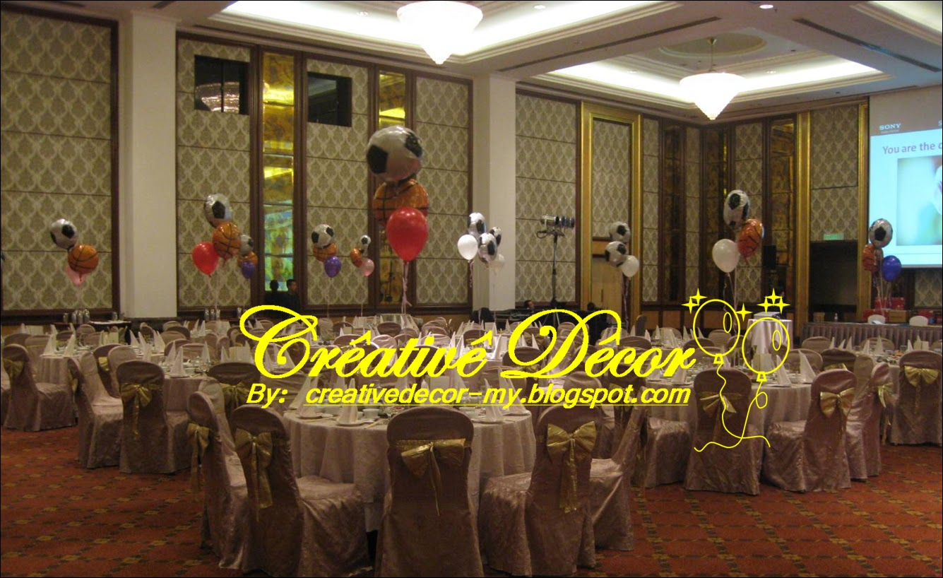 Creatived cor by vincent corporate annual dinner for Annual dinner decoration