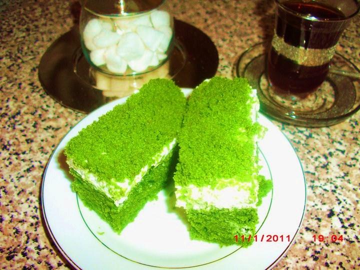 SPINACH CAKE [ ISPANAKLI KEK ]