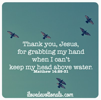 prayer for when you feel like you can't keep your head above water