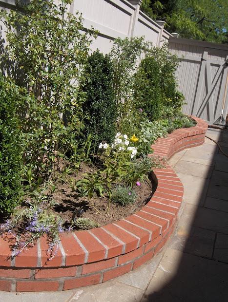 brick laminate garden
