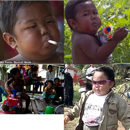 ardi rizal bocah 2 tahun kecanduan rokok habiskan 40 batang rokok sehari