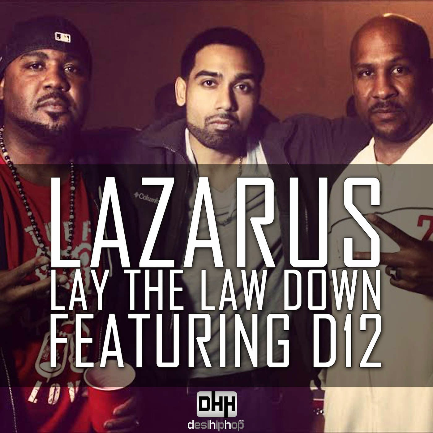 Lazarus - Lay the Law Down (feat. D12) - Single Cover