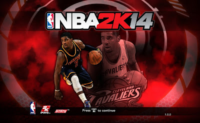 NBA 2K14 Kyrie Irving Title Page Screen Mod