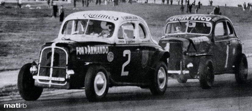 24 de mayo, 1952 / OSCAR GALVEZ GANABA EN LA PRIMERA DEL TC EN BUENOS AIRES