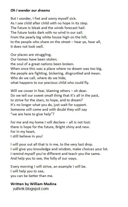 yuthink poem