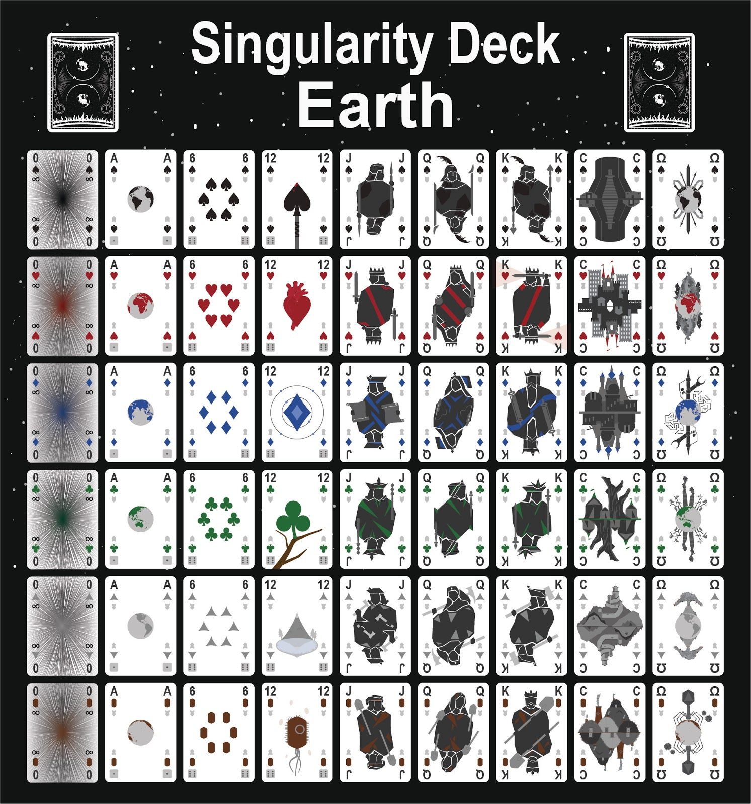 The Singularity Deck - Earth