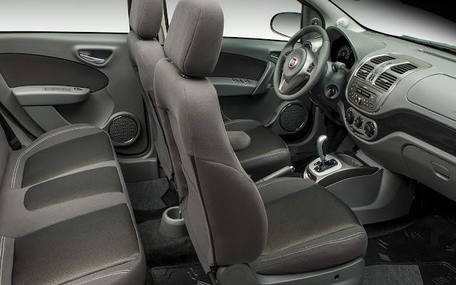 Fiat Grand Siena 2016 - interior