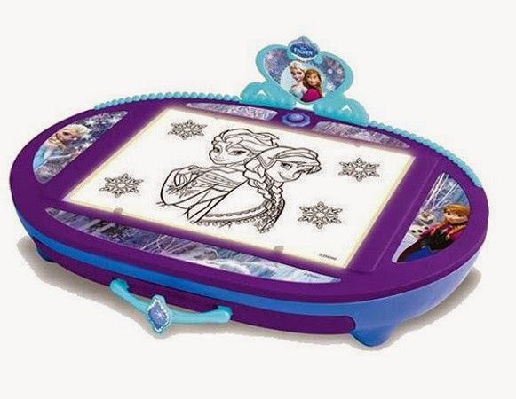 JUGUETES - DISNEY Frozen Proyector Ilumina y dibuja | Caja Retroiluminada Producto Oficial | IMC Toys | A partir de 5 años