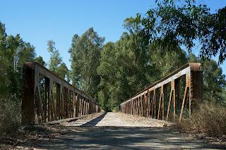 Puente de hierro. (agosto 2011)