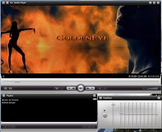 VLC audio equilizer screen shot