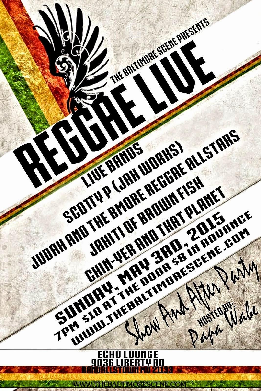 Reggae Live!!