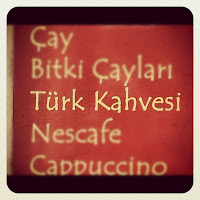 Turkish Coffee Sign