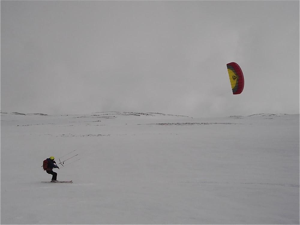 Kiting, Hardangervidda.