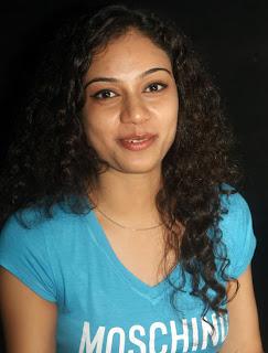 Rupa Manjari at Galatta Cinema Awards Spicy Pictures in Green T Shirt