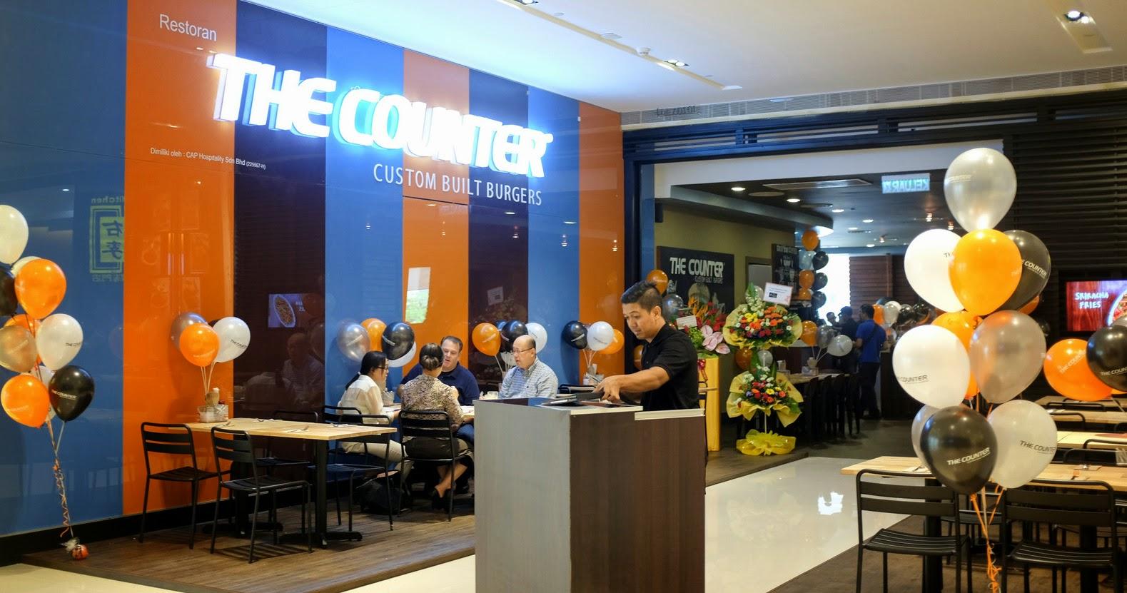 the counter malaysia: custom built burgers @ pavilion