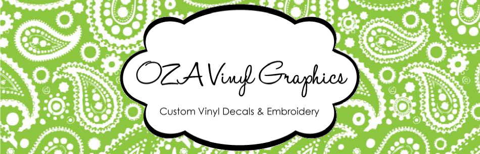 OZA Vinyl Graphics Blog