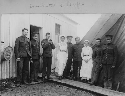 Nursing Sister WW1 Photo Album: 27V Nurses & Staff