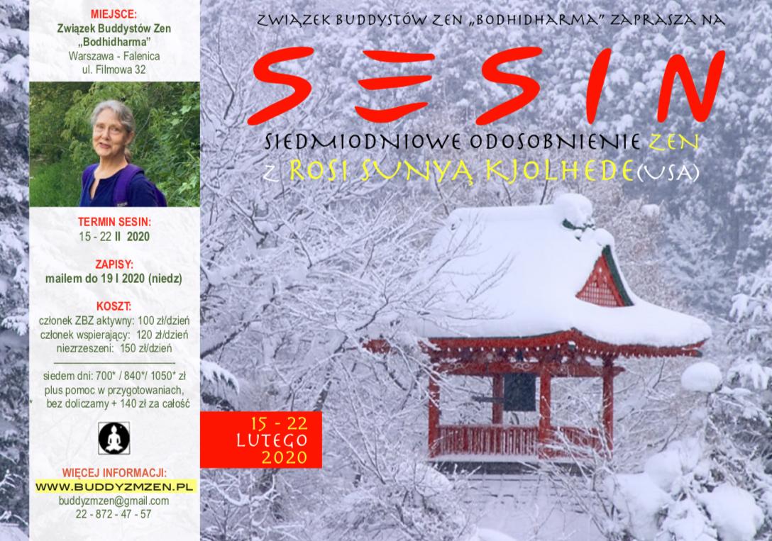 Zimowe siedmiodniowe sesin z Rosi Sunyą Kjolhede