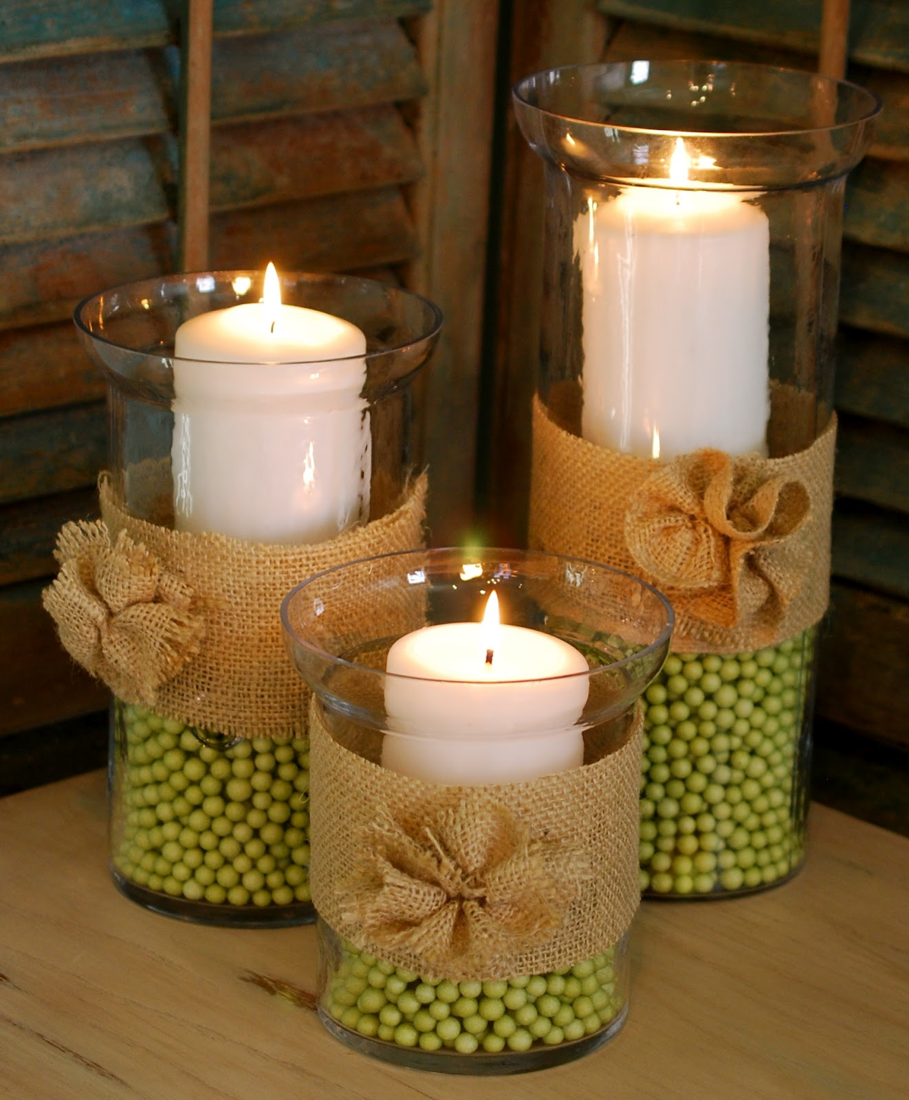 Spring hurricane vasesburlap rosettes amanda jane brown need a quick and easy spring centerpiece or addition to your coffee table these spring hurricane vases are a cinch to put together and easily transition reviewsmspy