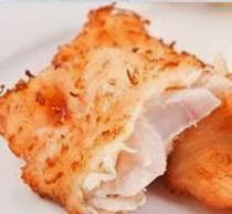 Filete de pescado con coco